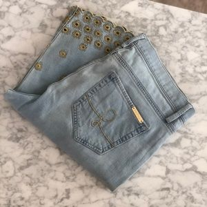 NWOT Lilly Pulitzer Cropped Jeans